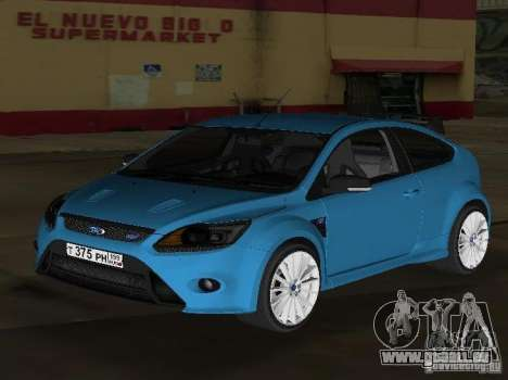 Ford Focus RS 2009 pour GTA Vice City