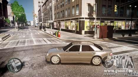 Mercedes Benz W124 E500 für GTA 4 linke Ansicht