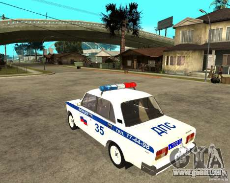 VAZ 2105 DPS für GTA San Andreas linke Ansicht