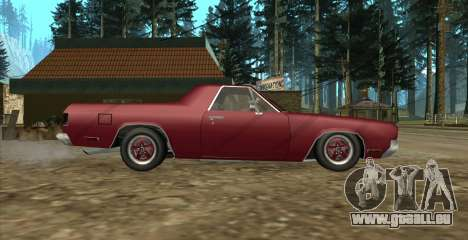 Eon SabreTaur Picador pour GTA San Andreas sur la vue arrière gauche