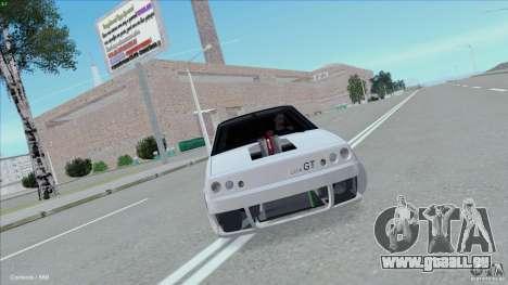 ВАЗ 2108 Sport pour GTA San Andreas sur la vue arrière gauche