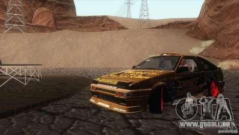 Toyota Corolla AE86 DS pour GTA San Andreas