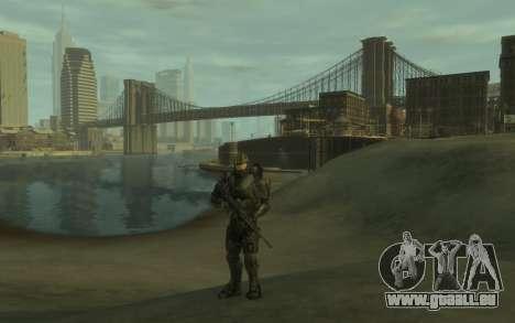 Halo 4 Master Chief pour GTA 4 secondes d'écran