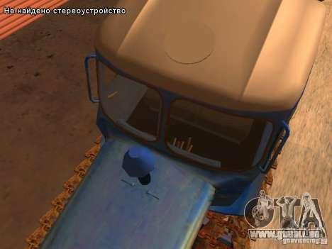 DT-75 m-Kasachstan für GTA San Andreas Unteransicht