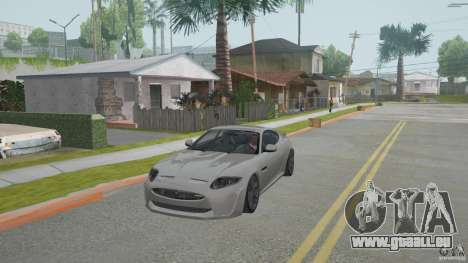 Jaguar XKR-S pour GTA San Andreas laissé vue