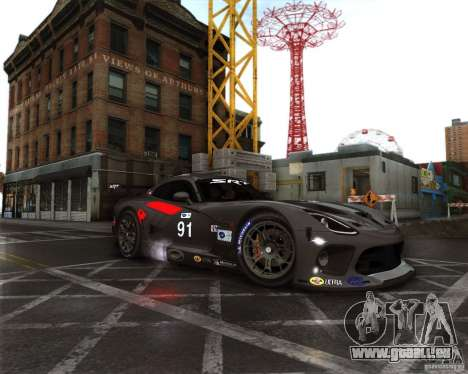 SRT Viper GTS-R V1.0 pour GTA San Andreas