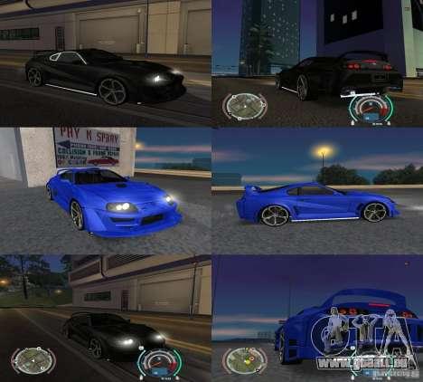 Toyota Supra 2006 Most Wanted für GTA San Andreas