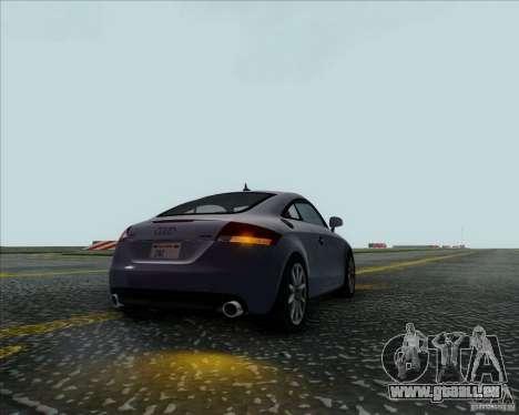 Audi TT für GTA San Andreas Rückansicht