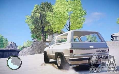 Chevrolet Blazer K5 1986 für GTA 4 linke Ansicht