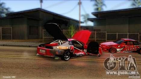 Toyota Supra HELL für GTA San Andreas rechten Ansicht
