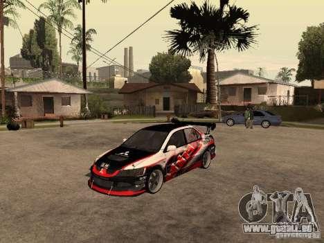 Mitsubishi Lancer Evolution 8 GReddy pour GTA San Andreas