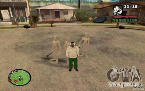 Newcomer aus GROVE für GTA San Andreas zweiten Screenshot