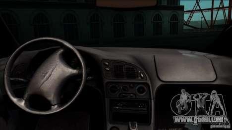 Mitsubishi Eclipse GSX 1999 für GTA San Andreas Rückansicht