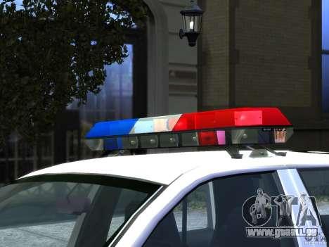 Ford Crown Victoria LAPD v1.1 [ELS] für GTA 4 Innenansicht
