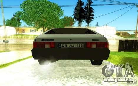 2141 AZLK v2. 0 für GTA San Andreas Innenansicht