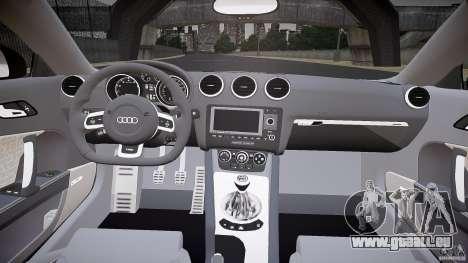 Audi TT RS v3.0 2010 pour GTA 4 Vue arrière