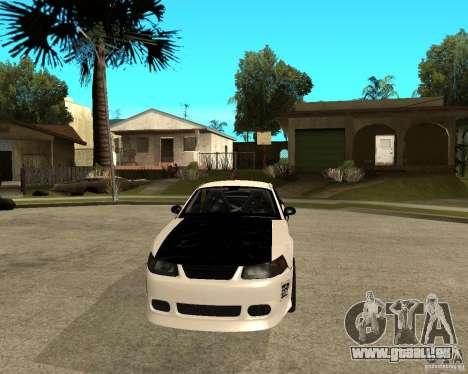 2003 Ford Mustang GT Street Drag für GTA San Andreas Rückansicht