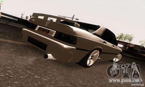 Mercedes-Benz 190E V2.0 pour GTA San Andreas laissé vue
