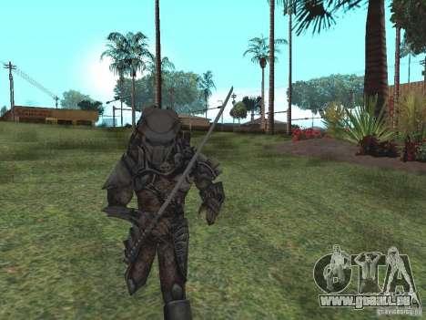 Predator pour GTA San Andreas deuxième écran