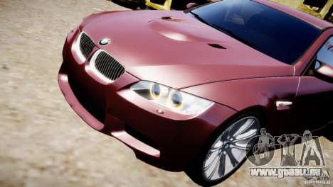 BMW M3 E92 für GTA 4 Seitenansicht