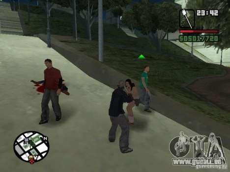 Brosse de toilette pour GTA San Andreas troisième écran