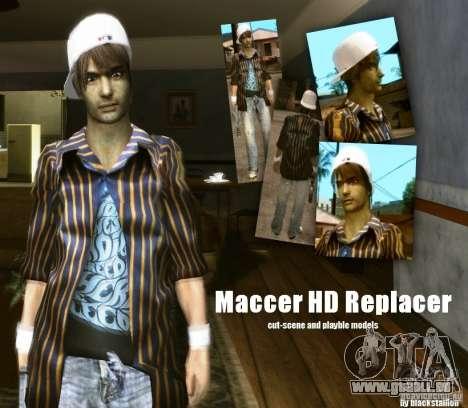Maccer HD Replacer für GTA San Andreas