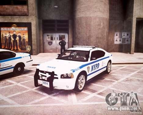 Dodge Charger 2010 NYPD ELS für GTA 4 linke Ansicht