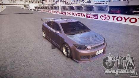 Toyota Scion TC 2.4 Tuning Edition für GTA 4 Innenansicht