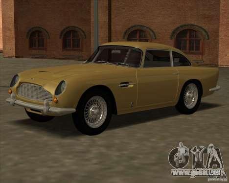 Aston Martin DB5 Vantage 1965 pour GTA San Andreas