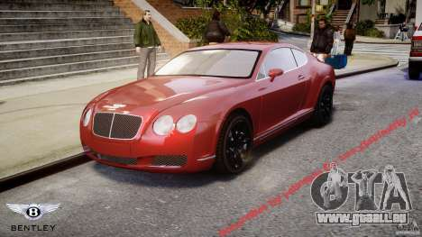 Bentley Continental GT 2004 für GTA 4