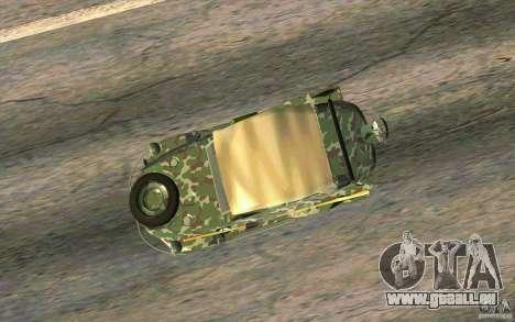 Volkswagen 166 SCHWIMMWAGEN KTZ 120 K2S pour GTA San Andreas vue de droite