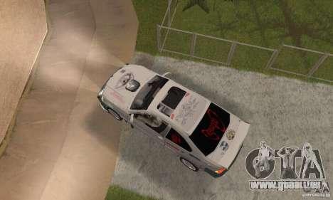 BMW M3 Hamman Street Race pour GTA San Andreas vue de droite