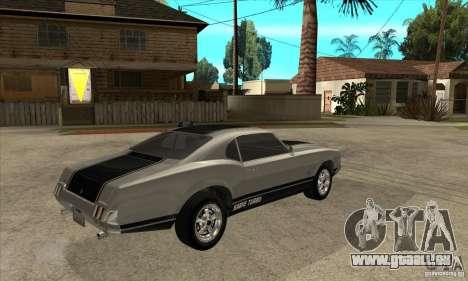 Sabre de GTA 4 pour GTA San Andreas vue de droite