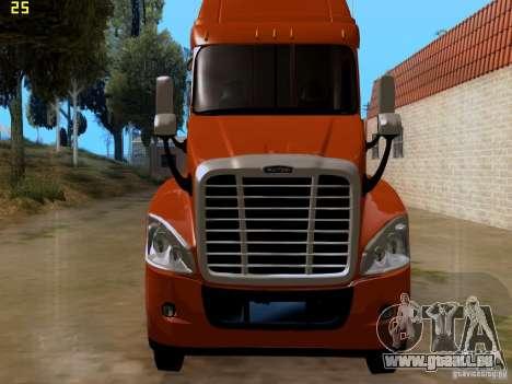 Freightliner Cascadia pour GTA San Andreas vue arrière