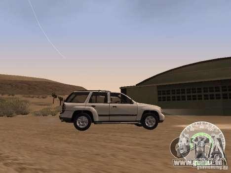 Chevrolet Trail Blazer pour GTA San Andreas laissé vue