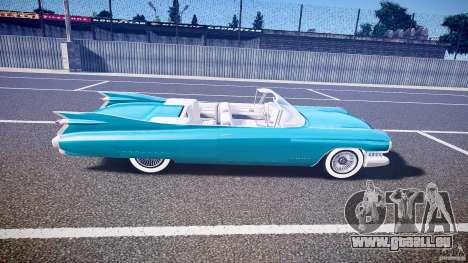 Cadillac Eldorado 1959 interior white für GTA 4 Seitenansicht
