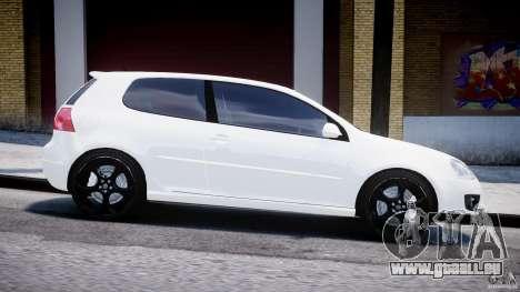 Volkswagen Golf 5 GTI pour GTA 4 est une vue de l'intérieur