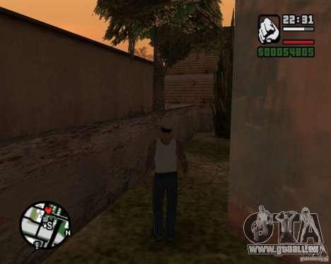 CJ Gopnik pour GTA San Andreas troisième écran