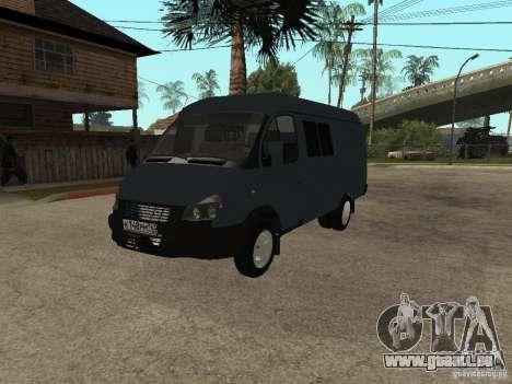 Gazelle 2705 Business für GTA San Andreas