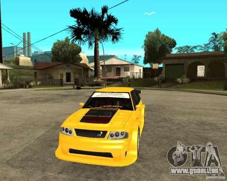 Moskvich 2141 STR (TUNING dur) pour GTA San Andreas vue arrière