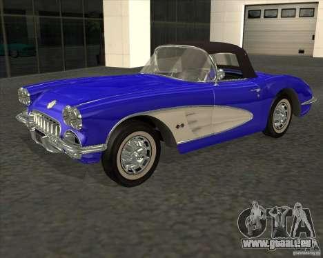 Chevrolet Corvette 1959 pour GTA San Andreas