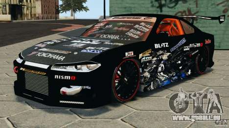 Nissan Silvia S15 HKS für GTA 4
