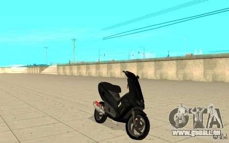 Gilera Runner 50SP Skin 2 pour GTA San Andreas
