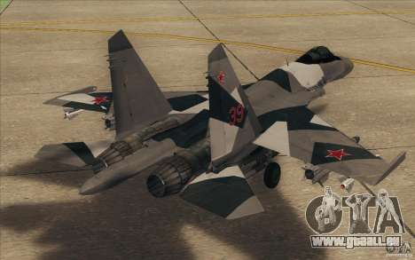 Su-35 BM v2. 0 für GTA San Andreas rechten Ansicht