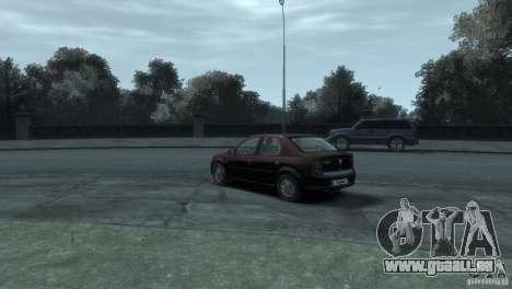 RENAULT LOGAN pour GTA 4 Vue arrière de la gauche
