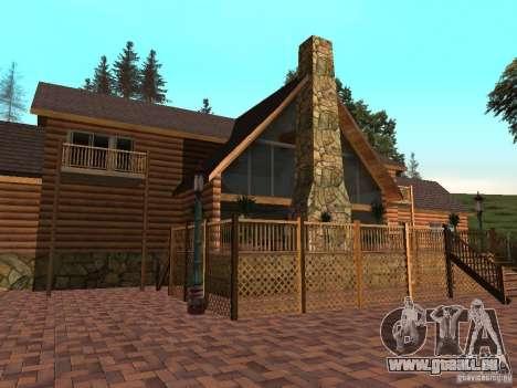 Villa neuve pour CJ pour GTA San Andreas troisième écran