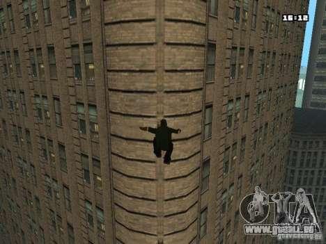 Parkour Mod für GTA San Andreas sechsten Screenshot
