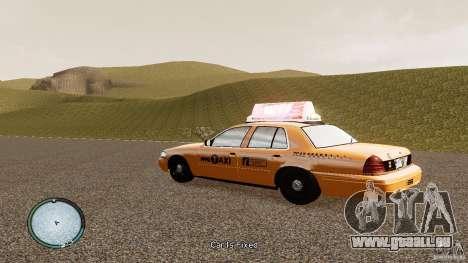 Ford Crown Victoria 2003 NYC Taxi für GTA 4 linke Ansicht