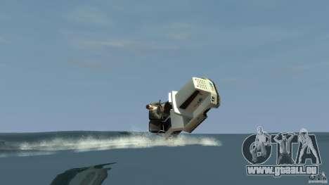 Airtug boat für GTA 4 rechte Ansicht