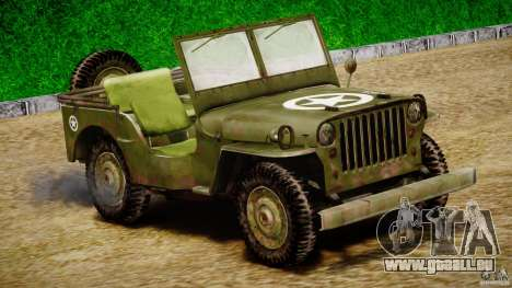 Jeep Willys [Final] für GTA 4 linke Ansicht